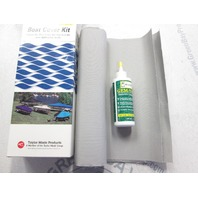 67680 Taylor Made Boat Cover Polycotton Repair Kit Silver/Gray
