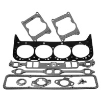 27-75611A2 Cylinder Head Gasket Set for MERCRUISER- GM305 & 350 CID, 898 (198HP), 200, 228, 230/260(Inboard),230, 250, 255, 260, 280, & 5.7L Ski