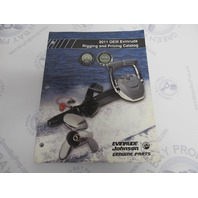 765432 2011 OEM Evinrude Outboard Rigging & Pricing Catalog