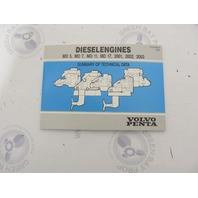 7731792-3 Volvo Penta Diesel Engines Technical Data Summary Booklet