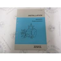 7732707-0 Volvo Penta Installation Manual Aquamatic Engine 1989