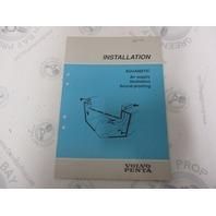 7732708-8 Volvo Penta Installation Manual Aquamatic Ventilation 1989
