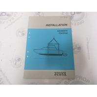7732711-2 Volvo Penta Installation Manual Aquamatic Checkings 1989