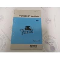 7732808-6 Volvo Penta Service Workshop Manual 431 Engine Units NOS