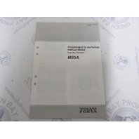 7733064-5 Volvo Penta 7731362-5 Workshop Manual Supplement MS4A MS5A