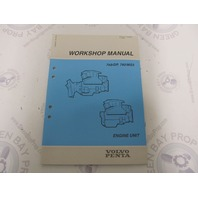 7733187-4 Volvo Penta Service Workshop Manual 740/DP MS5 Engine Units