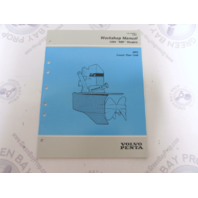"7735296-1 1994 Volvo Penta Service Workshop Manual ""MD"" Model Lower Gear Unit"