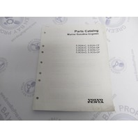 7744000 2003 Volvo Penta Stern Drive Parts Catalog 5.0L Gasoline Engines