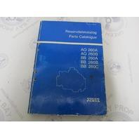 7744020-4 Volvo Penta Stern Drive Parts Catalog AQ260A/B BB260A/B/B