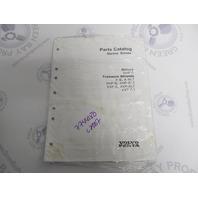 7744180 2007 Volvo Penta Marine Drives Parts Catalog XDP-B