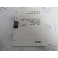 7744330 2003 Volvo Penta Stern Drive Parts Catalog 5.7L Gasoline Engines