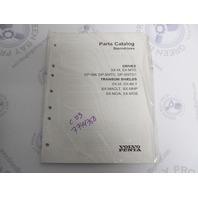 7744350 2003 Volvo Penta Stern Drive Parts Catalog Drives & Transom Shields