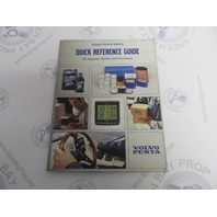 7744439 2006 Volvo Penta Parts Quick Reference Guide Book