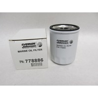 778886 5033539 BRP OMC Oil Filter Johnson 90 & 115 HP Outboards