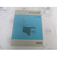 7788876-6 Volvo Penta DP-S Lower Gear Unit Service Workshop Manual Supplement
