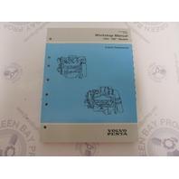 """7796485-6 1994 Volvo Penta Service Workshop Manual """"MD"""" Model Engine Components"""
