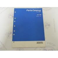 "7797015-0 Volvo Penta Stern Drive Parts Catalog ""HU"" 3.0 GS"