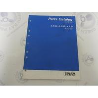 "7797210-7 Volvo Penta Stern Drive Parts Catalog ""NC"" 4.3L"