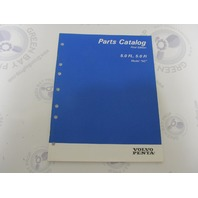 "7797220-6 Volvo Penta Stern Drive Parts Catalog ""NC"" 5.0 FL Fi"