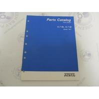 "7797230-5 Volvo Penta Stern Drive Parts Catalog ""NC"" 5.7 GL Gi"