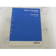 "7797270-1 Volvo Penta Stern Drive Parts Catalog ""NC"" Accessories"