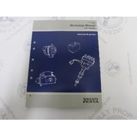 """1997 Volvo Penta Electrical & Ignition Service Workshop Manual """"LK"""" Models"""