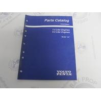 """7797420-2 Volvo Penta Stern Drive Parts Catalog """"LK"""" 7.4L 8.2L"""
