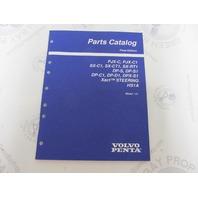 "7797430-1 Volvo Penta Stern Drive Parts Catalog ""LK"" PJX SX DP DPX"