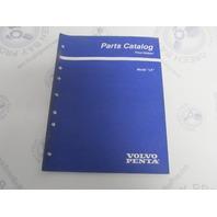 "7797440-0 Volvo Penta Stern Drive Parts Catalog ""LK"" Accessories"