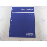 "7797440-0 Volvo Penta Stern Drive Parts Catalog Model ""LK"" Cooling Controls"