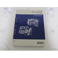 "7797451-7 Volvo Penta ""BY"" Engine Components Service Workshop Manual"