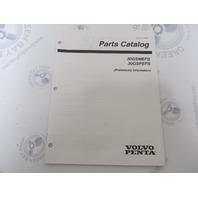 7797476 Volvo Penta Stern Drive Parts Catalog 3.0L 30GSMEFS 30GSPEFS