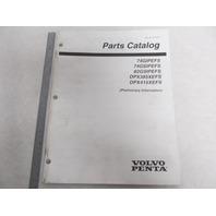 7797479 Volvo Penta Stern Drive Parts Catalog 7.4, 8.2, DPX