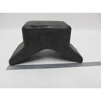 7Y44 Yates Rubber Boat Trailer V Style Bow Stop Guard, 4 x 4""