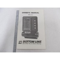 80-3086 Bottom Line EZ4400 Fishfinder Owner's Manual