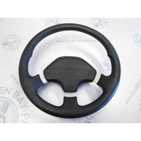 Bayliner Capri Dino Black Grip Boat Steering Wheel