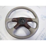 2001 Bluewater Breeze Tan 14 in Boat Steering Wheel