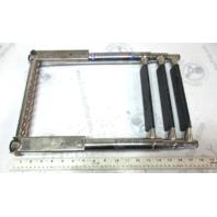 "Windline Telescoping 3 Step Marine Boat Ladder SST 40 1/4"" x 11 3/4"""