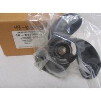 48-812950 Mercury Black Max 8-3/8  x 8 Pitch 3-Blade Alum Propeller 4-5HP