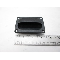 Boat Black Hatch Cabinet Drawer Pull Standard Set of 2