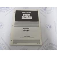 90-817442-90 Quicksilver Mercruiser 465 HP Engine Parts Catalog