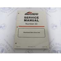 90-823228 694 MerCruiser Blackhawk Stern Drive Service Manual #20