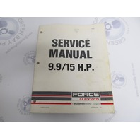90-823264 793 Mercury Force Outboard Service Manual 9.9/15 HP