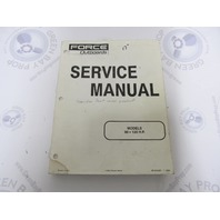 90-823267 1293 Mercury Force Outboard Service Manual 90/120 HP Models