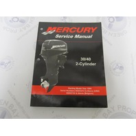 90-826148R03 Mercury Mariner Outboard Service Manual 30-40 HP 2 CYL