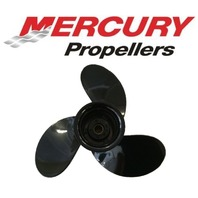48-828150A12 9.75 x 6.5 Pitch Alum Prop for Mercury Mariner 6-15 HP Outboards