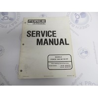 90-830565 Mercury Force Outboard Service Manual 90/120 HP 1995