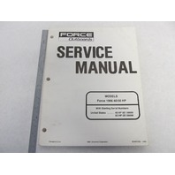90-831250 Mercury Force Outboard Service Manual 40/50 HP 1996