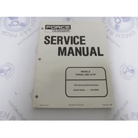 90-831251 Mercury Force Outboard Service Manual 75 HP 1996 Models