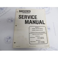 90-832749 Mercury Force Outboard Service Manual 90/120 HP 1995-96